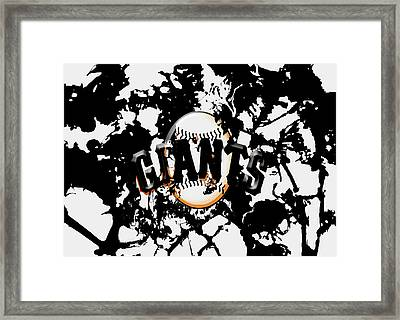 The San Francisco Giants 1a Framed Print by Brian Reaves