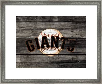 The San Francisco Giants 3b   Framed Print by Brian Reaves