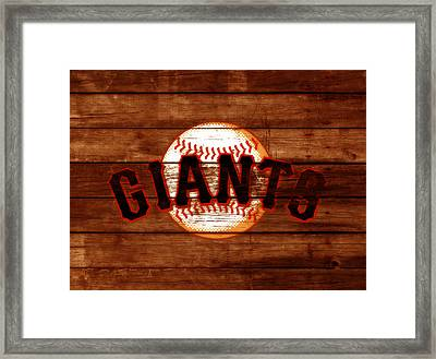 The San Francisco Giants 3c   Framed Print by Brian Reaves