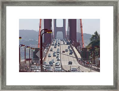 The San Francisco Golden Gate Bridge 5d2943 Framed Print