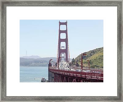 The San Francisco Golden Gate Bridge 5d2944 Framed Print