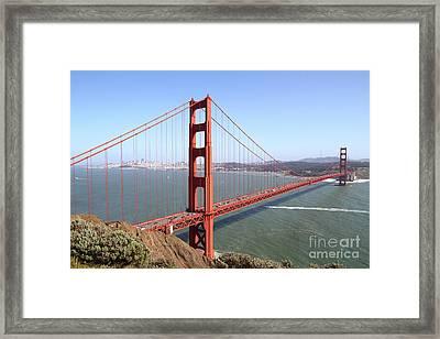 The San Francisco Golden Gate Bridge 7d14507 Framed Print
