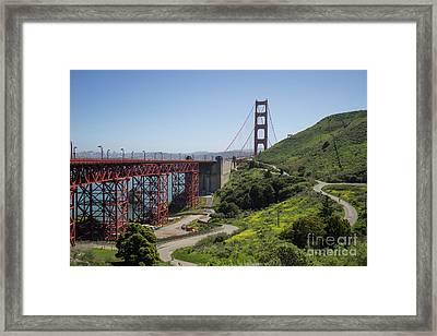 The San Francisco Golden Gate Bridge Dsc6139 Framed Print