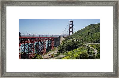 The San Francisco Golden Gate Bridge Dsc6139long Framed Print