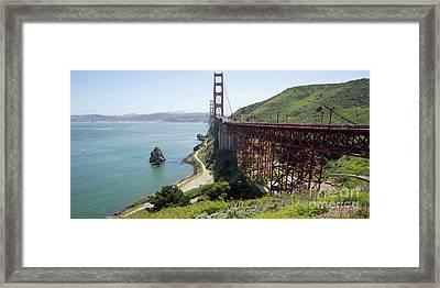 The San Francisco Golden Gate Bridge Dsc6146long Framed Print