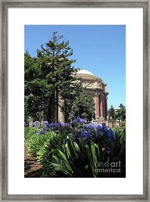The San Francisco Palace Of Fine Arts 5d18050 Framed Print