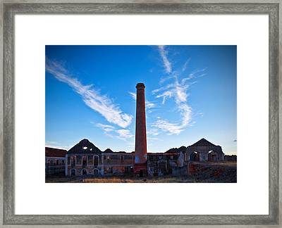 The San Joaquin Sugar Refinary Framed Print by Panoramic Images