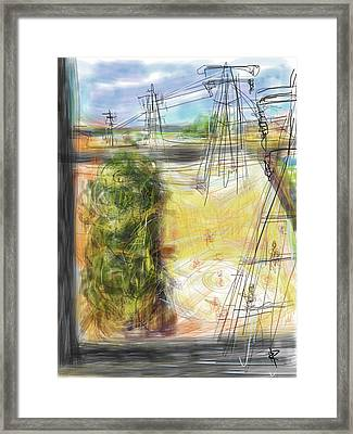 The Sandlot Framed Print by Russell Pierce