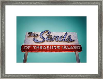 The Sands Framed Print by Jerry Golab