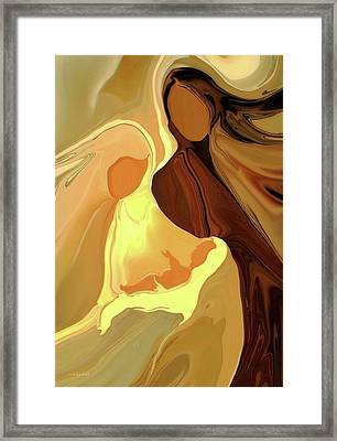 The Saviour Is Born Framed Print