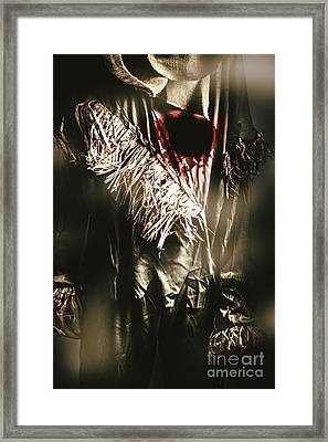 The Scarecrow - Tin Man Trade Framed Print
