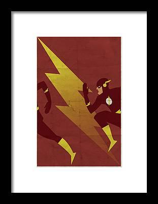 Lightning Framed Prints