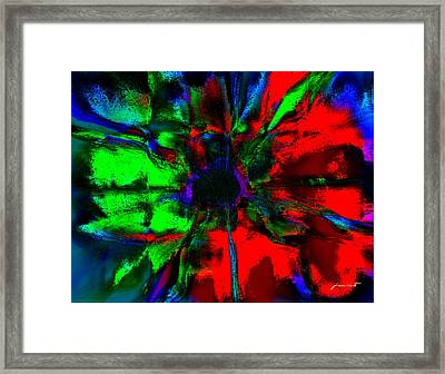 The Scent Of A Flower Framed Print by Fania Simon