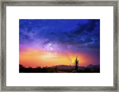 Framed Print featuring the photograph The Scent Of Rain by Rick Furmanek