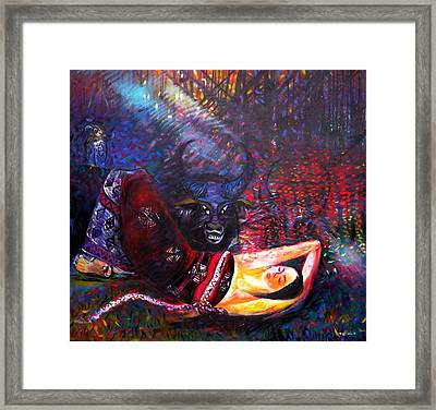 The Scent Of The Forest Framed Print by TrongAnh Gallery Artgallery