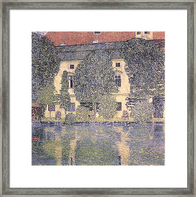 The Schloss Kammer On The Attersee IIi Framed Print