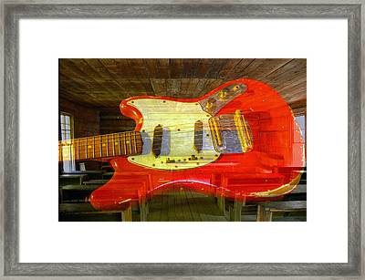 The School Of Rock Framed Print