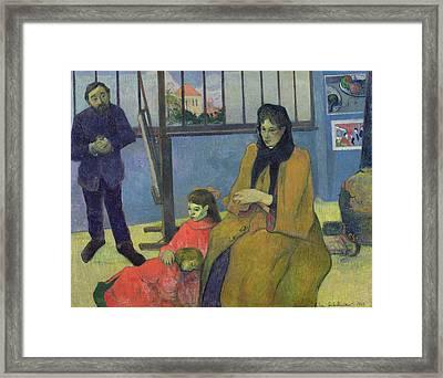 The Schuffenecker Family Framed Print by Paul Gauguin