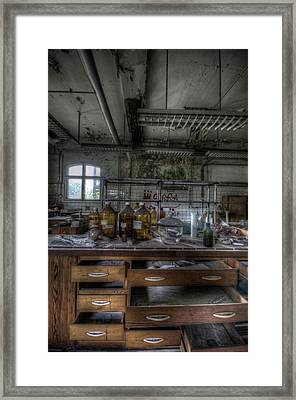 Framed Print featuring the digital art The Science  by Nathan Wright
