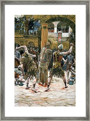 The Scourging Framed Print