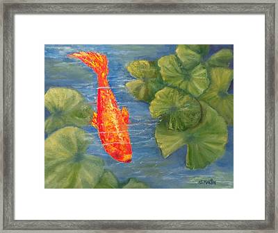 The Scout Framed Print by Annie St Martin