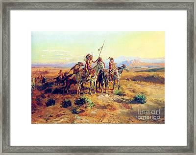 The Scouts Framed Print