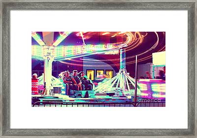 The Scrambler Framed Print