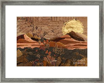 The Scream Of A Butterfly Framed Print