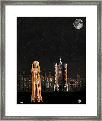 The Scream World Tour St James's Palace  Framed Print