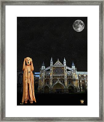 The Scream World Tour Westminster Abbey Framed Print by Eric Kempson