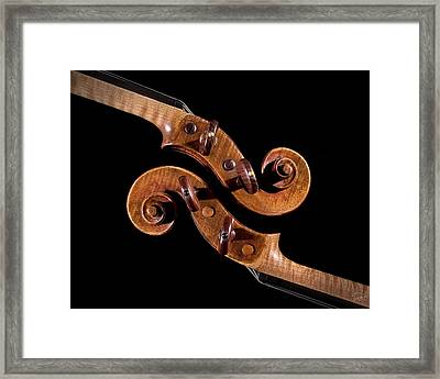 The Scroll And It's Clone Framed Print by Endre Balogh