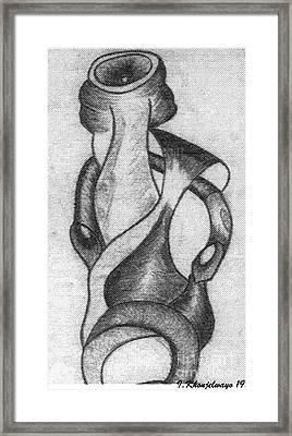 The Sculpture Award Framed Print