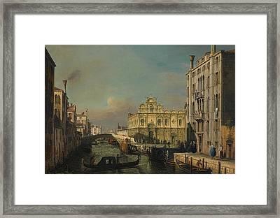 The Scuola Grande Di San Marco Framed Print