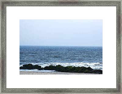 The Sea 2 Framed Print by Paul SEQUENCE Ferguson             sequence dot net