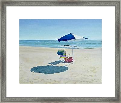 The Sea Air Framed Print