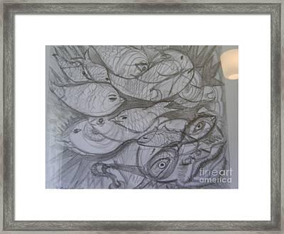 The Sea Diver Framed Print
