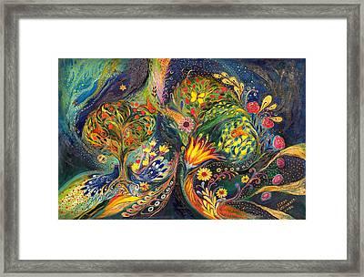 The Sea Garden Framed Print by Elena Kotliarker