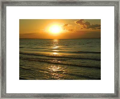 The Sea Of Azov Framed Print