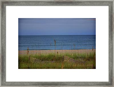 The Sea Shore Line Framed Print