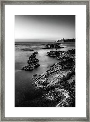 The Sea Serpent Framed Print
