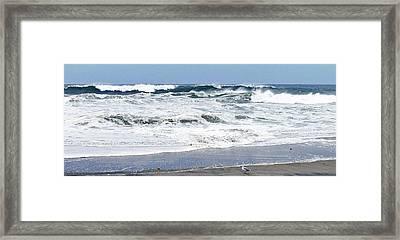 The Sea Framed Print by Tom LoPresti