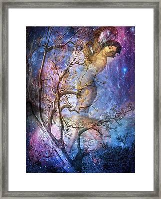 The Seasons Winter Framed Print by Debra and Dave Vanderlaan