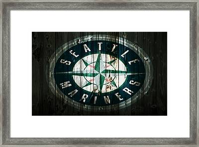 The Seattle Mariners 2b Framed Print by Brian Reaves