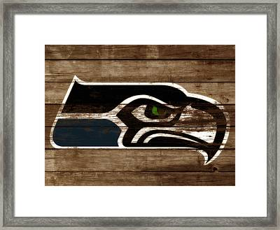 The Seattle Seahawks 3b Framed Print