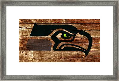 The Seattle Seahawks 4a Framed Print