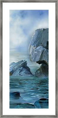 The Second Day Framed Print by Julie Rodriguez Jones
