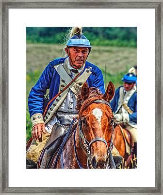 The Second Regiment Light Dragoons 004 Framed Print