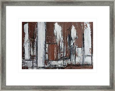 The Second View Framed Print by Karin Amtmann