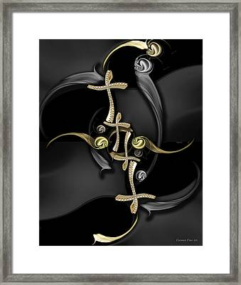 The Secret Beauty Framed Print