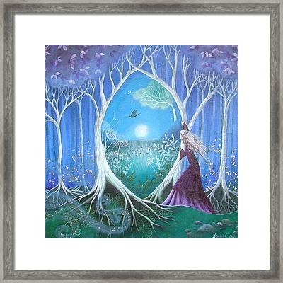 The Secret Garden Framed Print by Amanda Clark